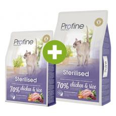 Profine Cat Sterilized 10+2kg ZDARMA