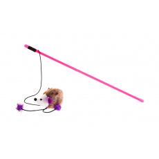 Prut pro kočky ježek 45cm
