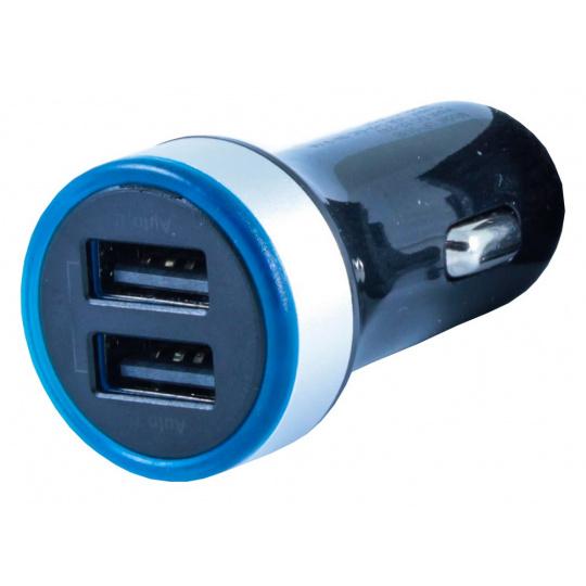 CUBE1 CL nabíječ Smart IC, 3.1A, 2x USB, Black