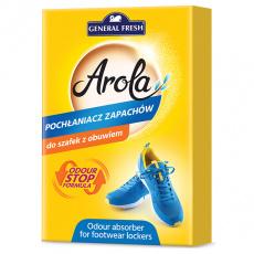 AROLA neutralizér pachů a vlhkosti z bot s aktivním uhlím 2ks