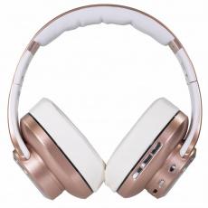 EVOLVEO SupremeSound 8EQ, Bluetooth sluchátka s reproduktorem a ekvalizérem 2v1, růžové