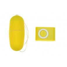 Vibrační vajíčko - Žluté
