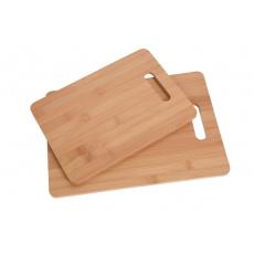 Bambusové krájecí prkénka, set 2ks