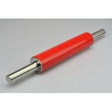 Nerezový váleček s nepřilnavým silikonovým povrchem - Červený (24,5/45,5cm)