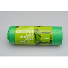 Pytle na skleněný odpad QDOMA 10ks (60x80cm) 60l