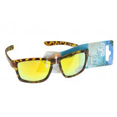 Sluneční brýle 276544 žíhané - Žlutá sklíčka