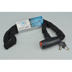 Řetězový zámek na kolo XQ MAX (97cm) - Černý