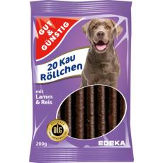GG Pamlsky s jehněčím a rýží pro psy 20ks