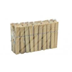 Dřevěné kolíčky na prádlo HOME POINT (20ks)