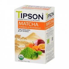 Tipson BIO Matcha s kurkumou 25x1,5g
