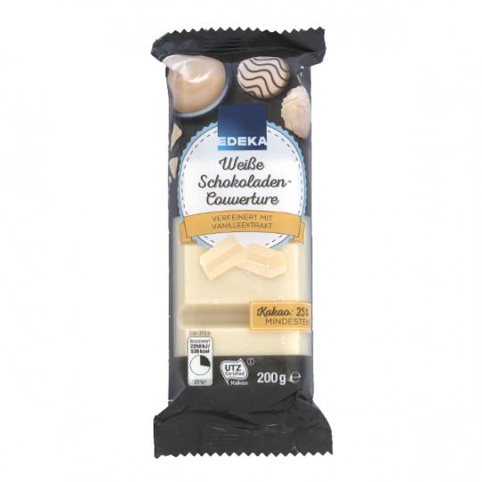 EDEKA Jemná bílá čokoláda 200g