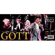 Kalendář 2022 stolní - Gott