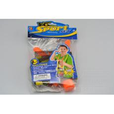 Vodní bomby s prakem - 36 balónků - Oranžový