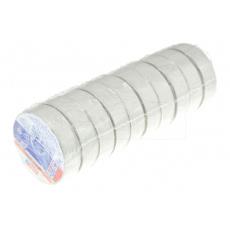 Elektrikářská páska 0.15x15mm / 5m - Bílá 1 ks