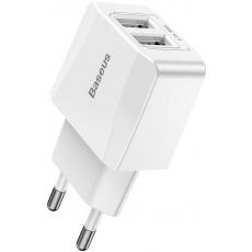 Baseus CCALL-MN02 Mini Nabíječka 2xUSB 2.1A White