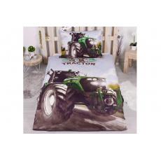 3D povlečení 140x200+70x90 - Traktor