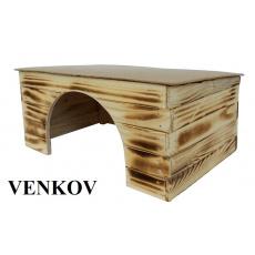 Dřevěná budka Venkov 4 MORČE