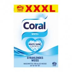 Coral prací prášek White Plus XXXL 100PD 7 kg