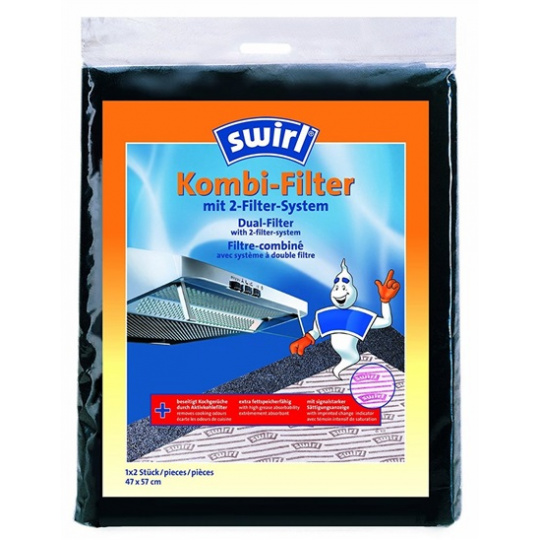 SWIRL Kombi filtr pro digestoře E1600035