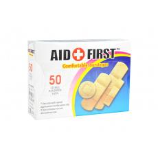 Sada 50ks náplastí AID FIRST Comfortable