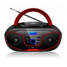 Bravo B-6037 CD přehrávač červený