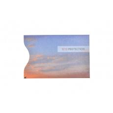 RFID ochranný obal na kartu - Fialový