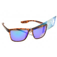 Sluneční brýle 276544 oranžové - Modrá sklíčka
