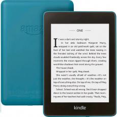 E-book AMAZON KINDLE PAPERWHITE 4 2018, 6'' 8GB E-ink displej, WIFi, BLUE, SPONZOROVANÁ VERZE