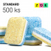 Tablety do myčky STANDARD s fólií 500 ks