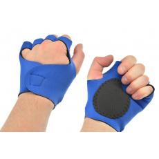 Fitness zpevňující rukavice z neoprenu - Uni (6-9)