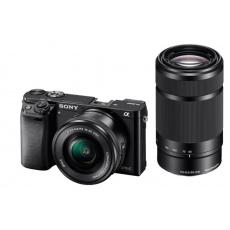 Sony A6000Y, 16-50+55-210mm, 24,3Mpix, černý