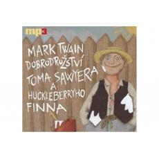 CD - Dobrodružství Toma Sawyera a Huckleberryho Finna