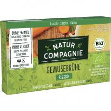Natur Compagnie BIO zeleninový čirý bujón 84g/8ks