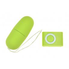 Vibrační vajíčko - Zelené
