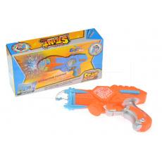 Dětská pistole se světelnými a zvukovými efekty GAZELO