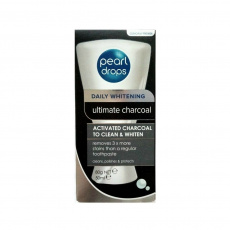 Pearldrops Charcoal zubní pasta s aktivním uhlím 50ml