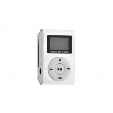 Mp3 přehrávač Digital MP3 Player - Stříbrný