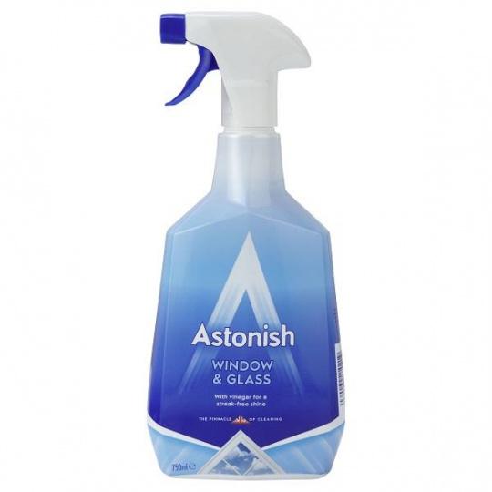 Astonish čistící sprej na skla a okna 750ml