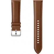 Samsung Stitch Leather Band (22mm, M/L) Brown