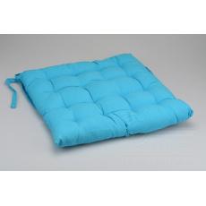 Podsedák na židli (40x40x6cm) - Modrý