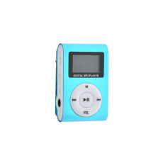Mp3 přehrávač Digital MP3 Player - Modrý