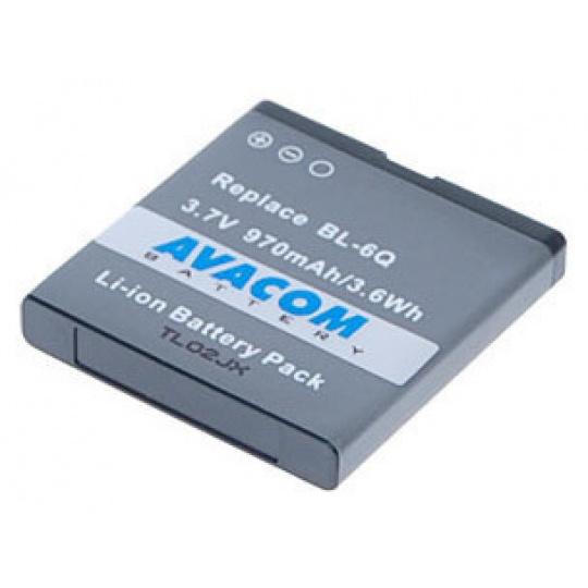 Baterie AVACOM GSNO-BL6Q-S970 do mobilu Nokia 6700 Classic Li-Ion 970mAh (náhrada BL-6Q)