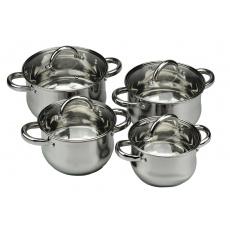 8-mi dílná sada nerezového nádobí BANQUET