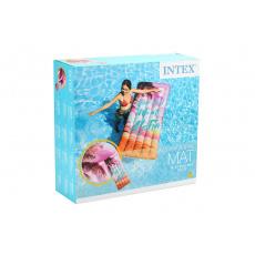 Nafukovací lehátko INTEX 58772 178x84cm - Růžové