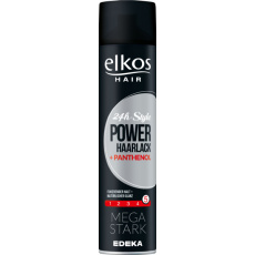 Elkos Power 24h Lak na vlasy s panthenolem 400 ml