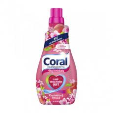 Coral prací gel na barevné prádlo Třešňový květ a Broskev 22PD 1,1l