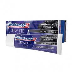 Blend-a-med zubní pasta White 3D s aktivním uhlím 75ml