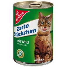 GG Zvěřinová konzerva pro kočky 415g