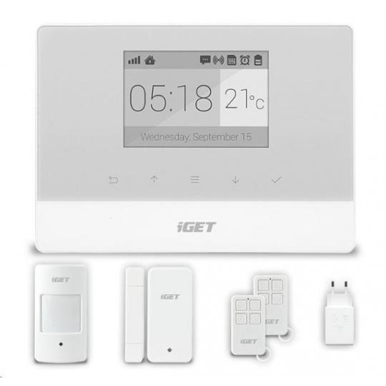 IGET SECURITY M3 - Domovní GSM Alarm