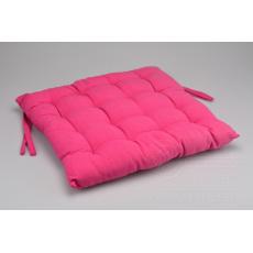 Podsedák na židli (40x40x6cm) - Růžový